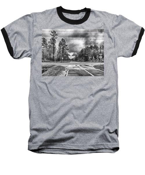 Baseball T-Shirt featuring the photograph The Crossroads by Howard Salmon