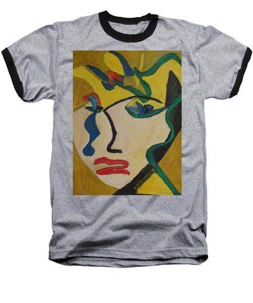 The Crying Girl Baseball T-Shirt