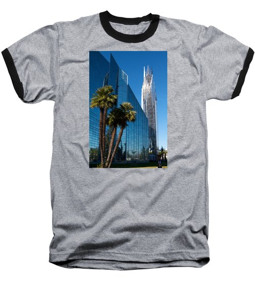The Crystal Cathedral  Baseball T-Shirt by Duncan Selby