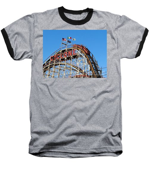 The Cyclone Baseball T-Shirt by Ed Weidman