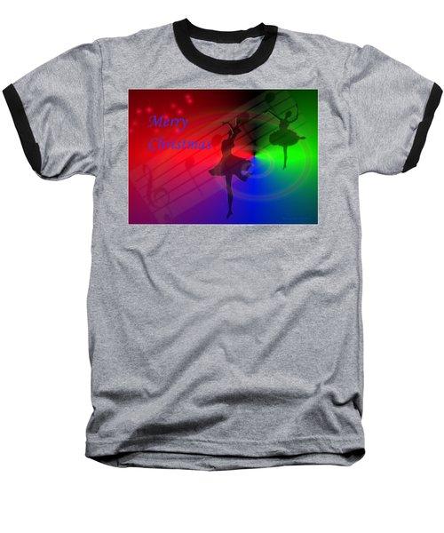 The Dance - Merry Christmas Baseball T-Shirt