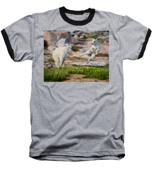 Baseball T-Shirt featuring the photograph The Dance Of Joy by Jim Garrison