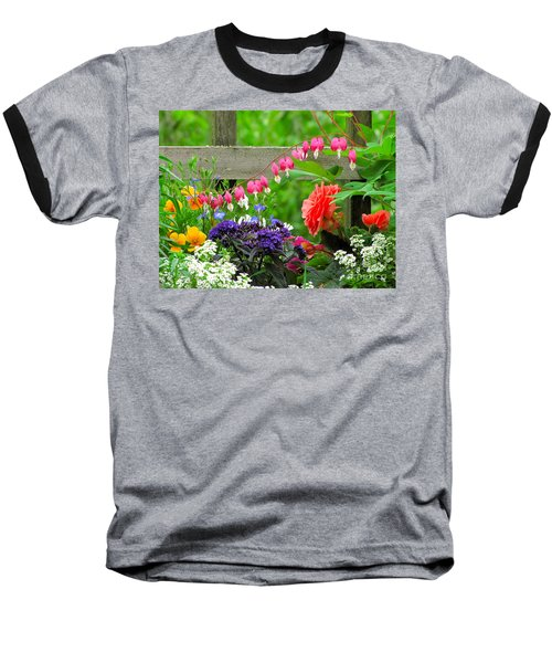 The Dance Of Spring Baseball T-Shirt by Sean Griffin