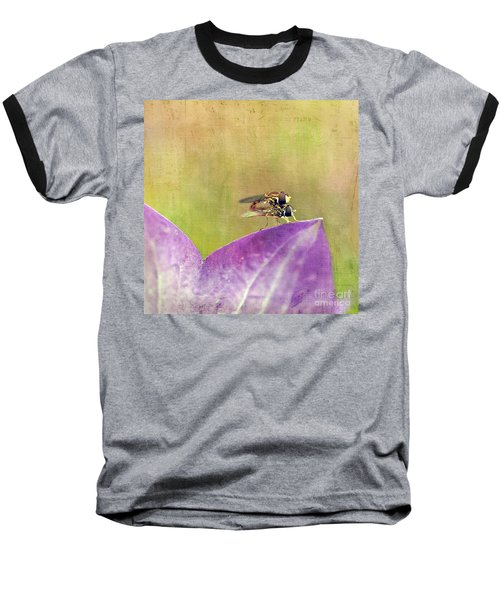 The Dance Of The Hoverfly Baseball T-Shirt