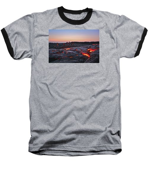 The Dawn Of Time Baseball T-Shirt
