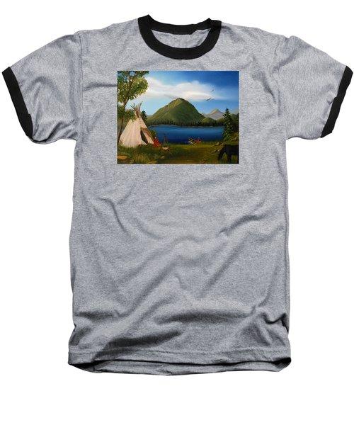 Dawn Of Tohidu Baseball T-Shirt by Sheri Keith