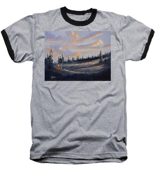 The Days End Baseball T-Shirt by Richard Faulkner