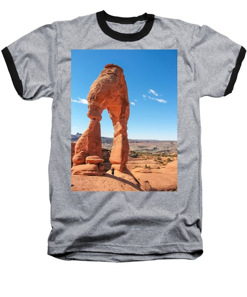 The Delicate Arch Baseball T-Shirt