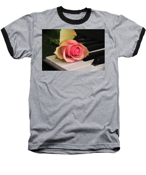 The Delicate Rose Baseball T-Shirt