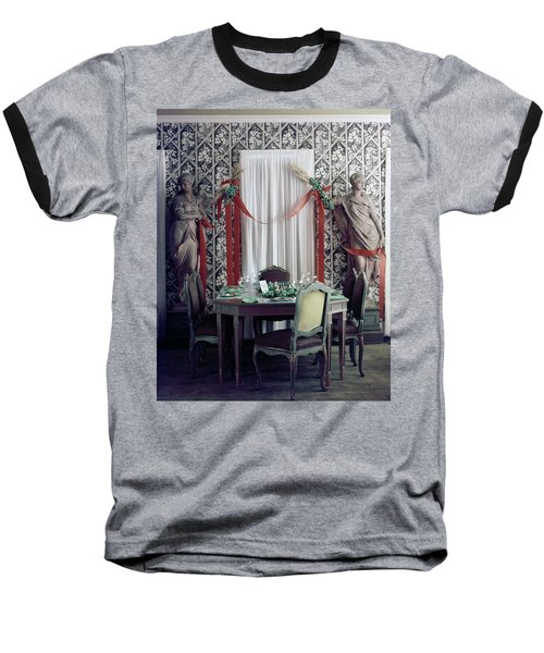 The Dining Room In James A. Beard's Home Baseball T-Shirt