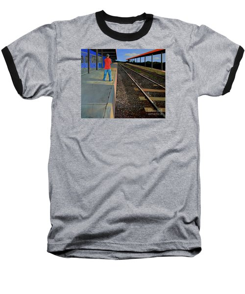 The Distance Of Solitude Baseball T-Shirt