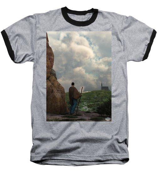 The Distant Chapel Baseball T-Shirt