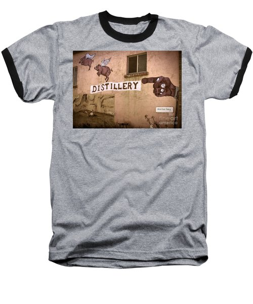 The Distillery Baseball T-Shirt by Janice Rae Pariza