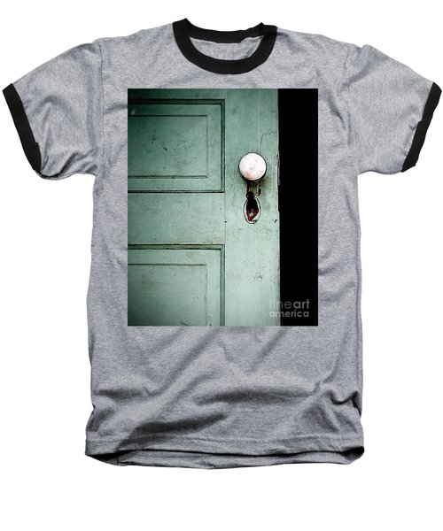 The Door Baseball T-Shirt by Liz Masoner