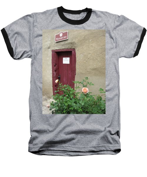 Baseball T-Shirt featuring the photograph The Doorway by Pema Hou