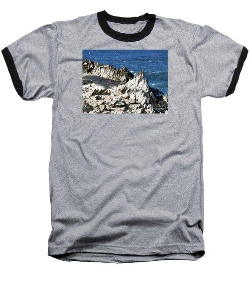 The Dragons Teeth I Baseball T-Shirt by Patricia Griffin Brett