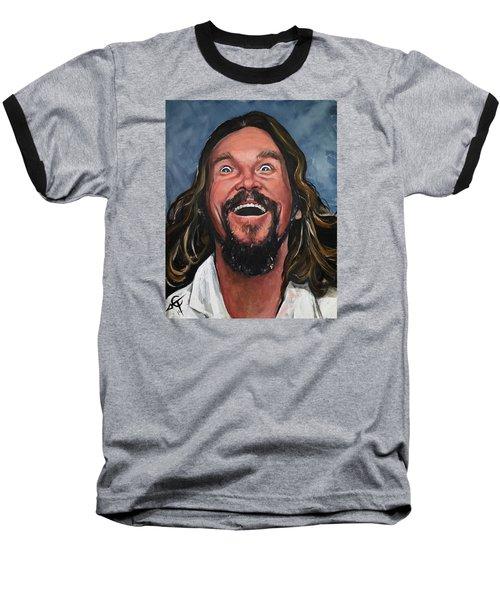 The Dude Baseball T-Shirt by Tom Carlton