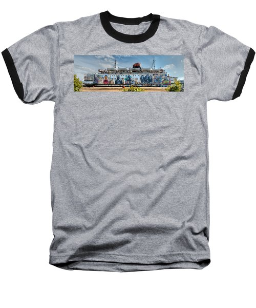 The Duke Of Graffiti Baseball T-Shirt by Adrian Evans