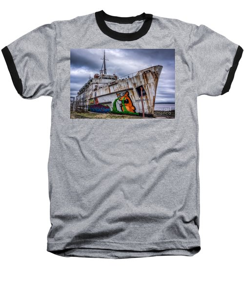 The Duke Of Lancaster Baseball T-Shirt by Adrian Evans
