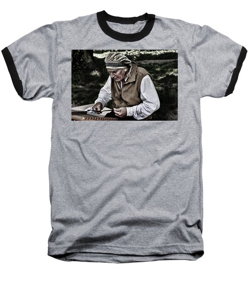 The Dulcimer Man Baseball T-Shirt