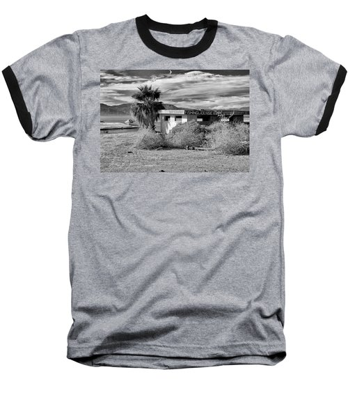 Baseball T-Shirt featuring the photograph The Dying Sea by Michael Pickett