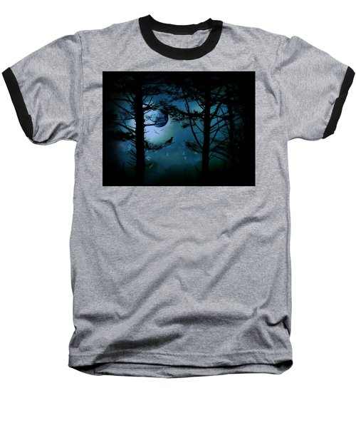 Baseball T-Shirt featuring the photograph The Edge Of Twilight  by Micki Findlay