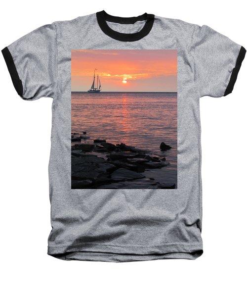 The Edith Becker Sunset Cruise Baseball T-Shirt