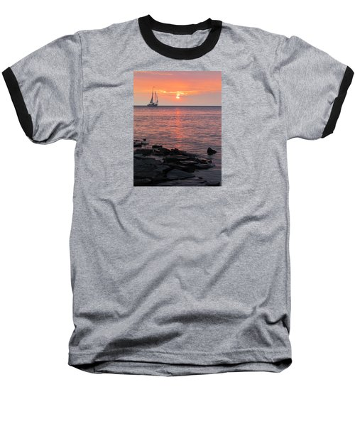 The Edith Becker Sunset Cruise Baseball T-Shirt