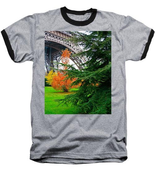 The Eiffel In Fall Baseball T-Shirt