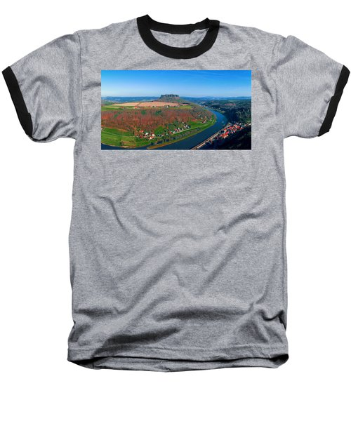 The Elbe Around The Lilienstein Baseball T-Shirt
