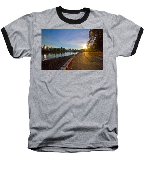 Baseball T-Shirt featuring the photograph The Emerald City by Eti Reid