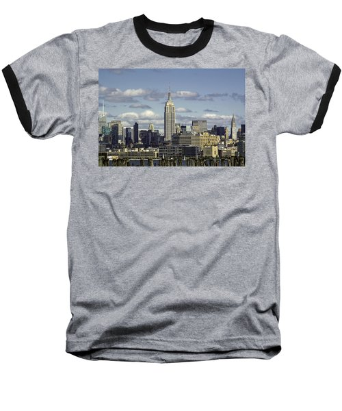 The Empire State Building 2 Baseball T-Shirt