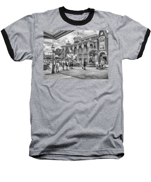 Baseball T-Shirt featuring the photograph The Emporium by Howard Salmon