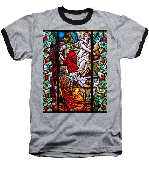The Empty Tomb Baseball T-Shirt