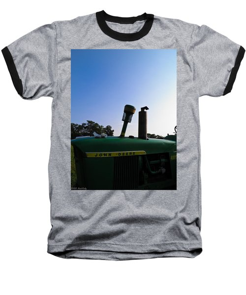 The End Of A Long Day Baseball T-Shirt
