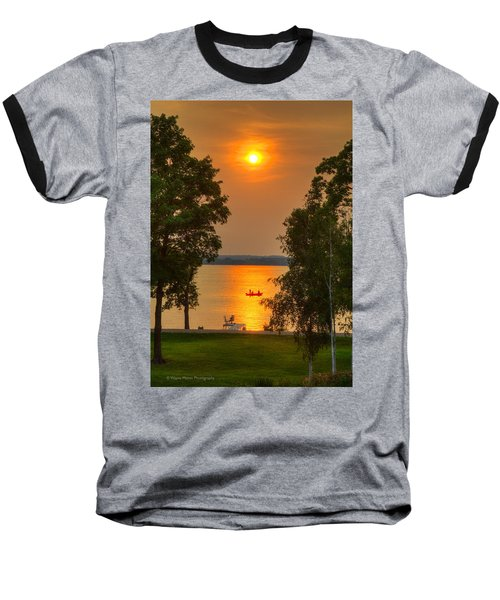 The End Of A Perfect Day Baseball T-Shirt