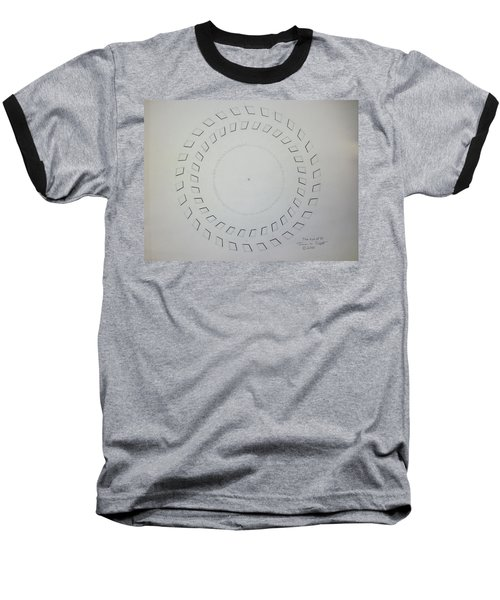 The Eye Of Pi Baseball T-Shirt