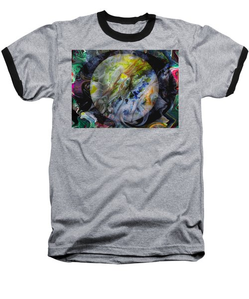 The Eye Of Silence Baseball T-Shirt by Otto Rapp
