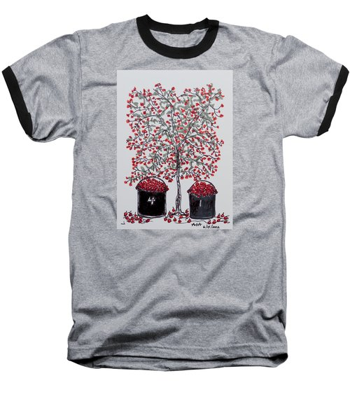 The Famous Door County Cherry Tree Baseball T-Shirt