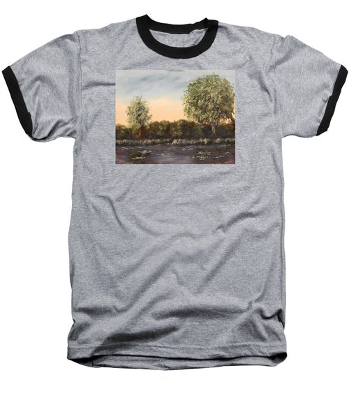 The Far End Of The Pond Baseball T-Shirt