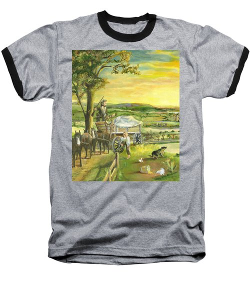 The Farm Boy And The Roads That Connect Us Baseball T-Shirt
