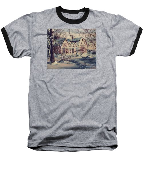 The Farm Baseball T-Shirt by Joy Nichols