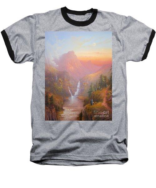 The Fellowship Of The Ring Baseball T-Shirt by Joe  Gilronan