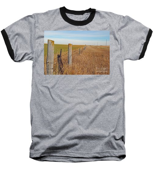 The Fence Row Baseball T-Shirt by Mary Carol Story