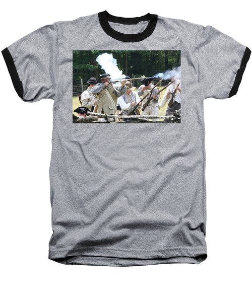 The Fight For Freedom Baseball T-Shirt