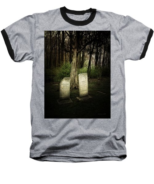 The Final Resting Place Of Ambros And Brazilla Ivins Baseball T-Shirt