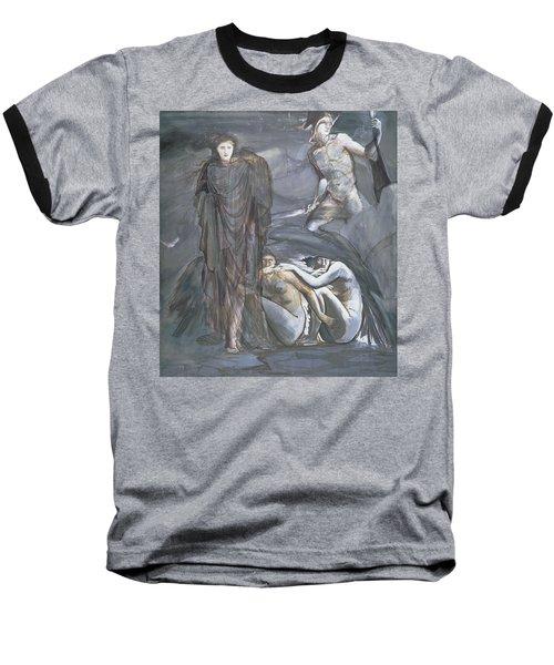 The Finding Of Medusa, C.1876 Baseball T-Shirt by Sir Edward Coley Burne-Jones