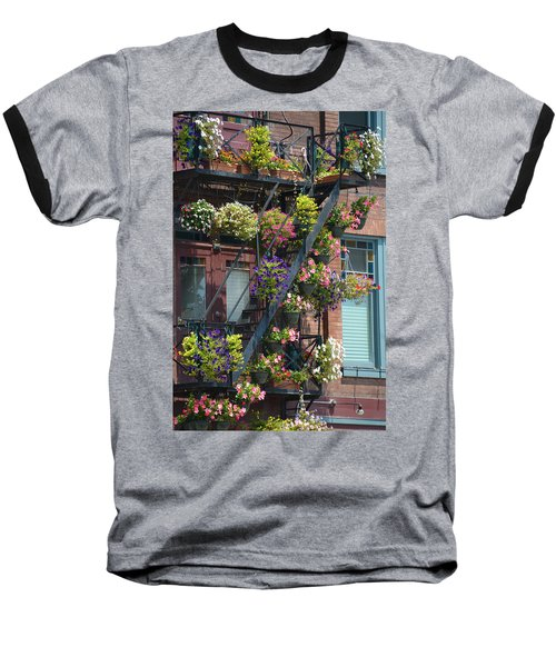 The Fire Escape Baseball T-Shirt