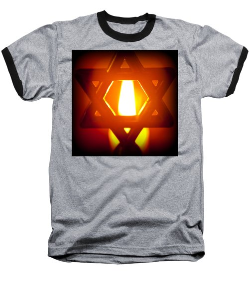 The Fire Within Baseball T-Shirt by Tikvah's Hope
