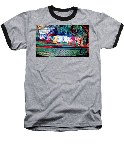 The First Clothing Line  Baseball T-Shirt by Ecinja